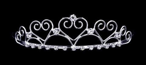"Tiaras up to 1.25 "" #16183 - Queen of Hearts Wire Tiara"