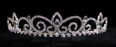 "Tiaras up to 1.25 "" #16232 - Royal Regent Tiara with Combs"