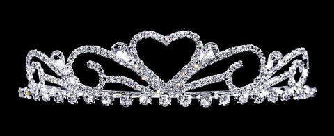 "Tiaras up to 1.25 "" #16235 - Sweetheart Tiara with Combs"