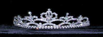 "Tiaras up to 1.5"" #13559 Russian Princess Tiara"