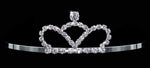 "Tiaras up to 1.5"" #13561 Small Crown Tiara"