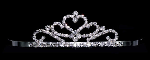 "Tiaras up to 1.5"" #14161 - Princess Heart Tiara"