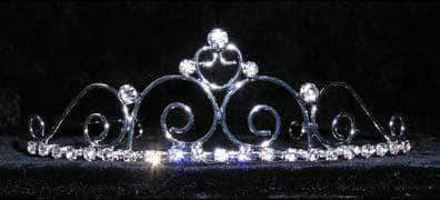 "Tiaras up to 1.5"" #14698 - Royalty Affair Wire Tiara"