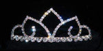 "Tiaras up to 1.5"" #16002 - Arabia Crystal Tiara with Combs"