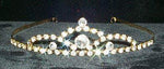 "Tiaras up to 1"" A Tiara of Perfection #8340 - Gold Plated"