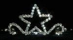"Tiaras up to 2"" #12039 Single Star Tiara"