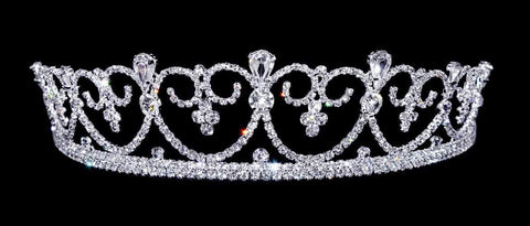 "Tiaras up to 2"" #12543 Sophisticated Queen Tiara"