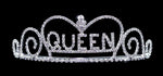 "Tiaras up to 2"" #13397 - Queen Tiara"