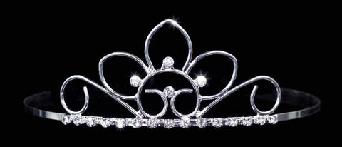 "Tiaras up to 2"" #14689 - Floral Sunrise Tiara"