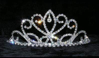 "Tiaras up to 2"" #15067 - Octopus Queen Tiara"