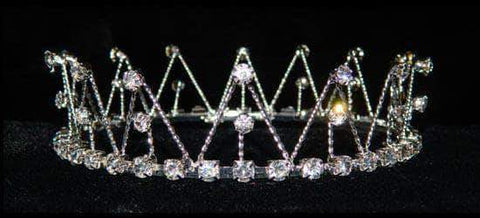 "Tiaras up to 2"" #15423 - Twisted Wire Crown"