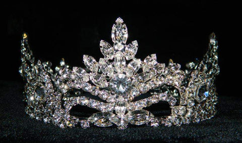 "Tiaras up to 2"" #15755 Pageant Prize -2"" Tall Crown"