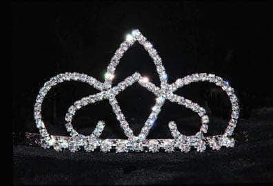"Tiaras up to 2"" #16004 - Crystal Elegance Tiara"