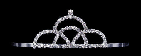 "Tiaras up to 2"" #16036 - Painted Mountain Tiara with Combs"