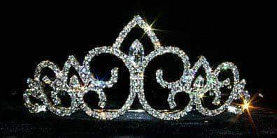 "Tiaras up to 3"" #13035 - Medium Splitting Sea Tiara"