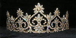 "Tiaras up to 3"" #13600 Royal Court Tiara - Gold"
