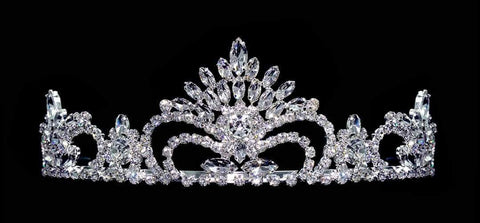 "Tiaras up to 3"" #15743 Pageant Prize Tiara - 2.5"" Tall"