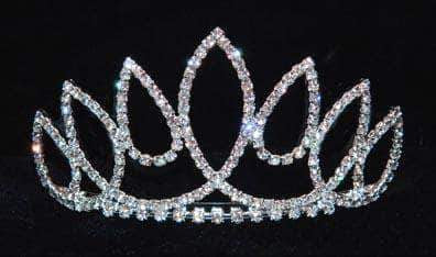 "Tiaras up to 3"" #15815 - Himalayan Princess Tiara with Combs"