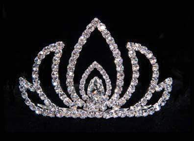 "Tiaras up to 3"" #15820 Water Lily Tiara"