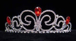 "Tiaras up to 3"" #16019 - Neptune Bride Tiara - Light Siam"