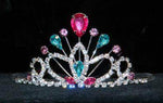 "Tiaras up to 3"" #16260LMS- Maus Tiara 2.25"" - Light Multi Silver"