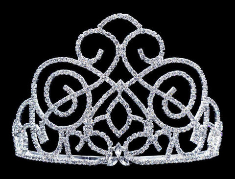 "Tiaras up to 3"" #16426 Victorian Class Tiara - 3"""