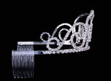 "Tiaras up to 3"" #16446 - Queen's Tiara with combs - 2.5"""