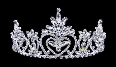 "Tiaras up to 3"" #16453 - Pageant Praise 2.75"" Tiara with Combs"