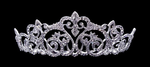 "Tiaras up to 3"" #16467 Fairy Dust Tiara with Combs - 2.5"" tall"