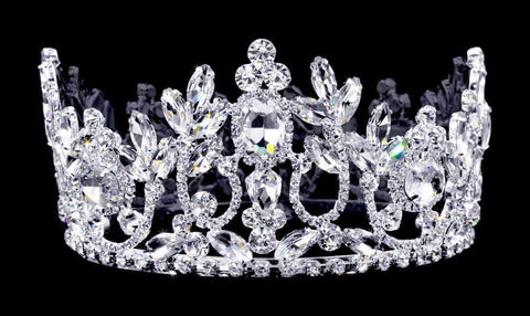 "Tiaras up to 3"" #16792 Jupiter Crown - 2.75"""
