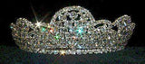 "Tiaras up to 3"" #8491 Full Stone Tiara"