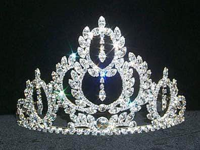 "Tiaras up to 4"" #12106 Large Winner's Circle Tiara"
