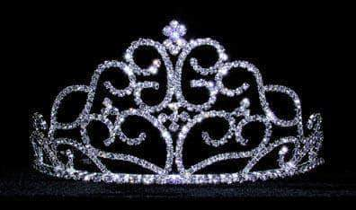 "Tiaras up to 4"" #13556 Scroll Garden Tiara"