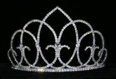 "Tiaras up to 4"" #14088 - Vaulted Ceiling Tiara"