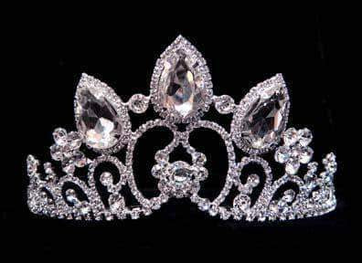 "Tiaras up to 4"" #15752 - Princess Wedding Adjustable Crown"