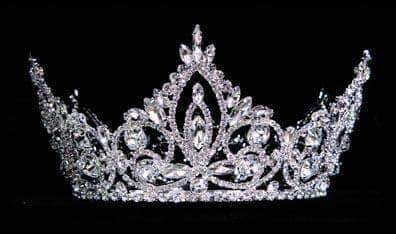 "Tiaras up to 4"" #16008 - Pageant Prime Crown"