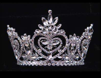 "Tiaras up to 4"" #16014 - Pageant Praise Crown - 3.5"""