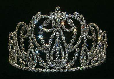 "Tiaras up to 4"" Full Tiara #11474"