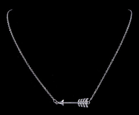 Trendy Jewelry 17103 - Arrow Necklace