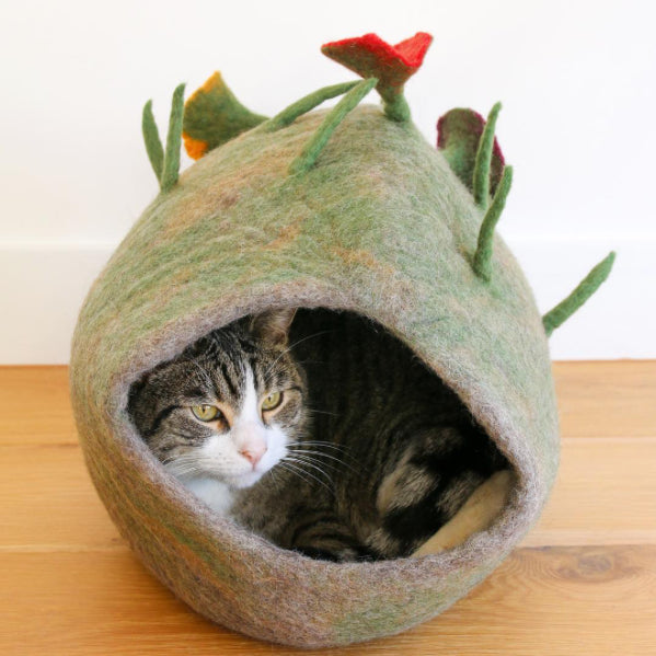 Cat Cave - Green Forest - Tara Treasures