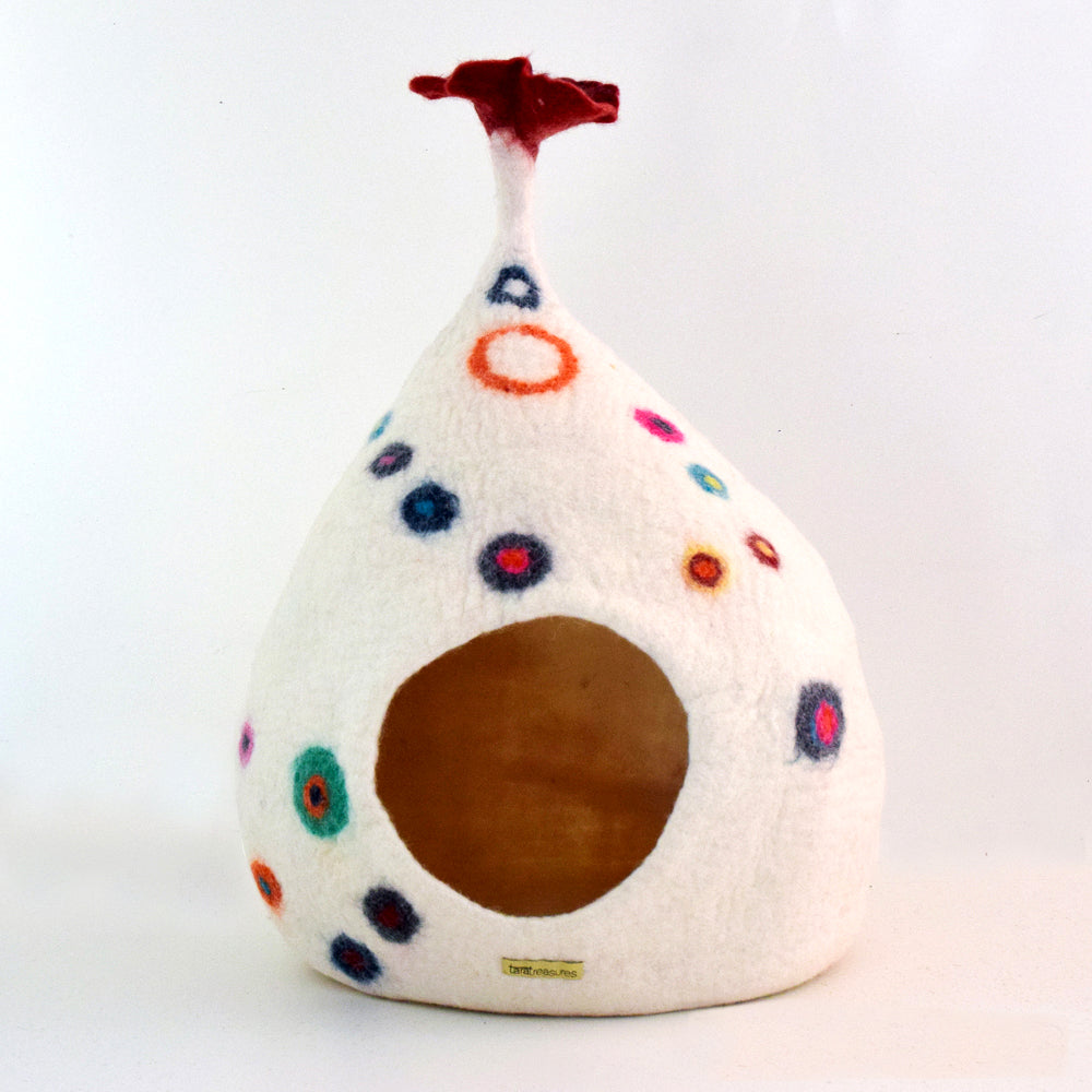 Cat Cave - Teardrop with Dots - Tara Treasures