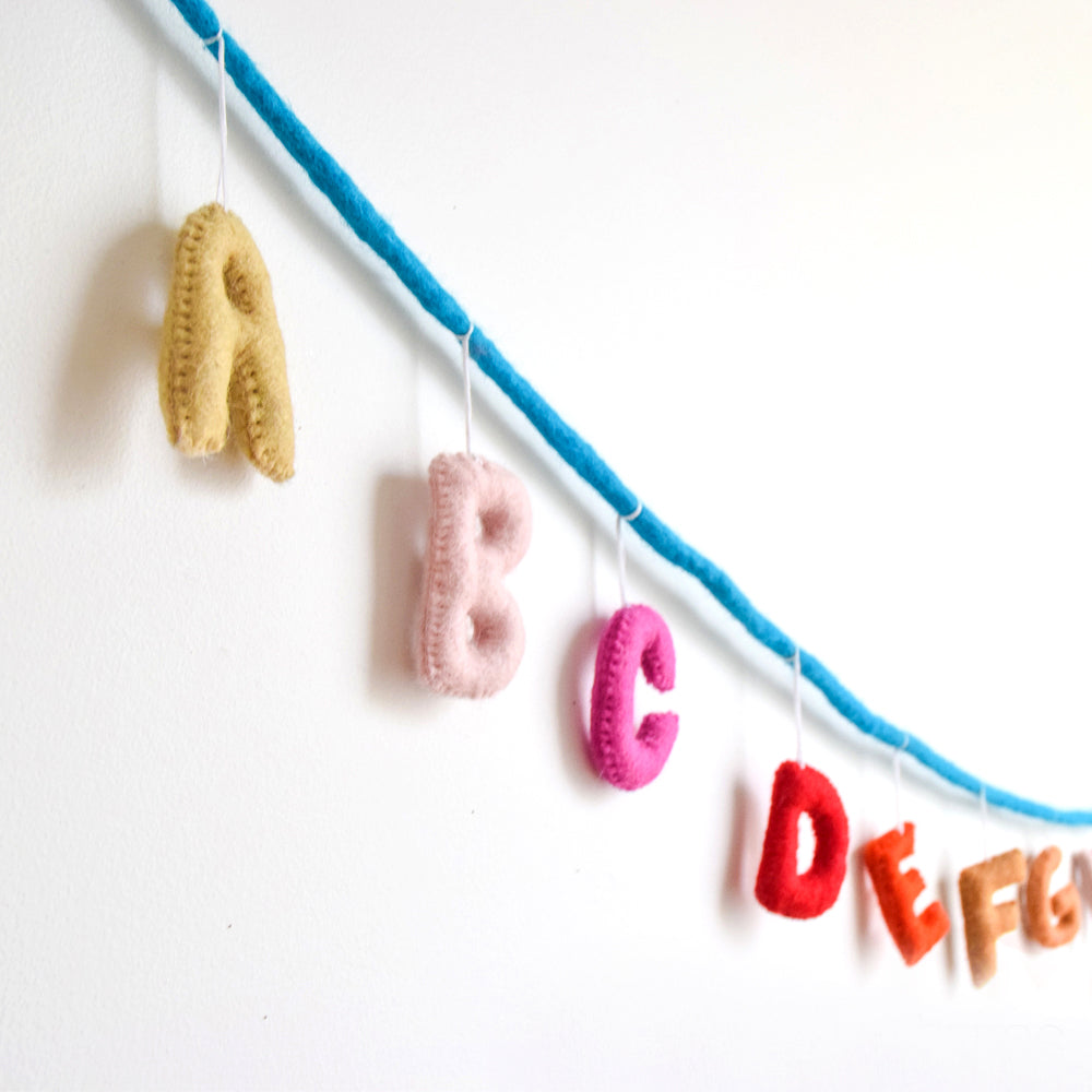 Nursery Garland - Alphabet A to Z - Tara Treasures