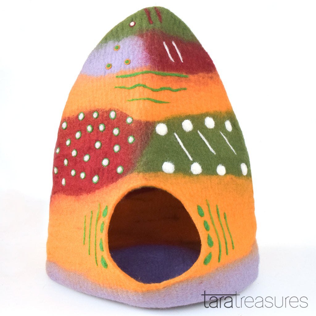 Cat Cave - Patchwork - Tara Treasures