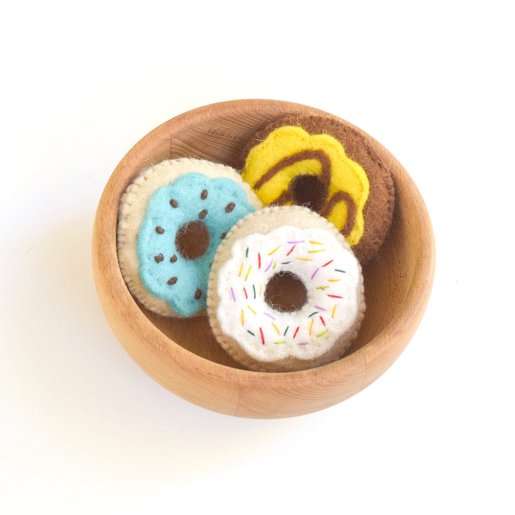 Felt Pretend Play Food - Donuts - Tara Treasures
