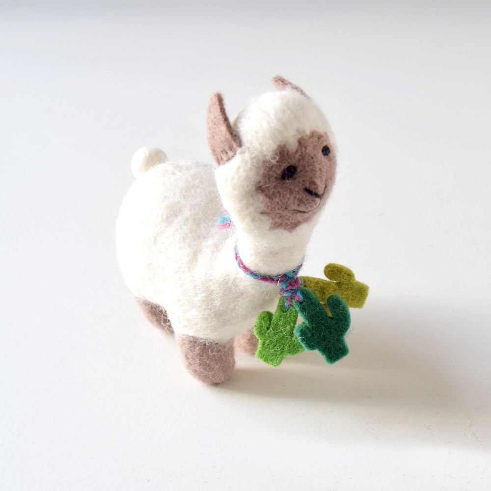 Felt Llama Toy - Medium - Tara Treasures