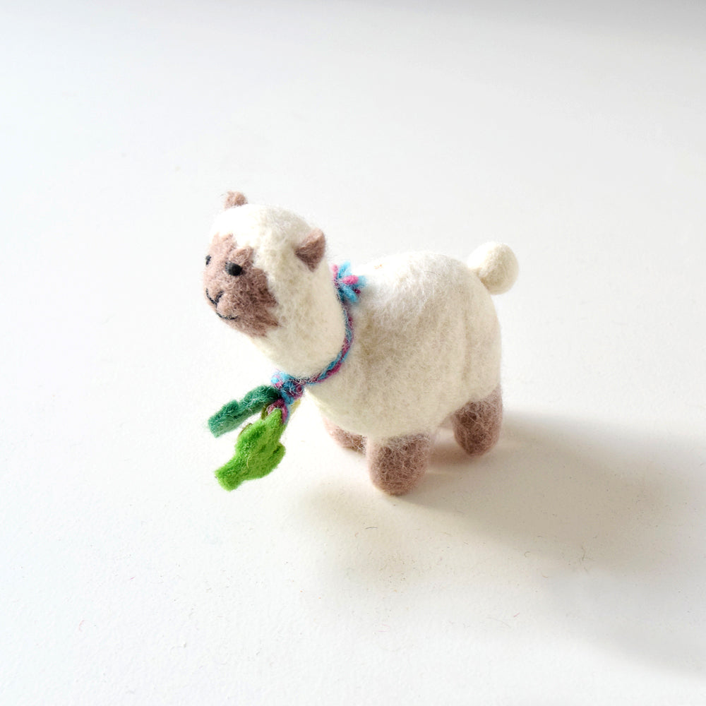 Felt Llama Toy - Small - Tara Treasures