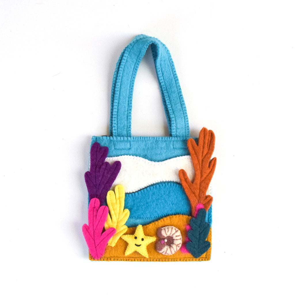 Finger Puppets - Sea Playscape Bag - Tara Treasures