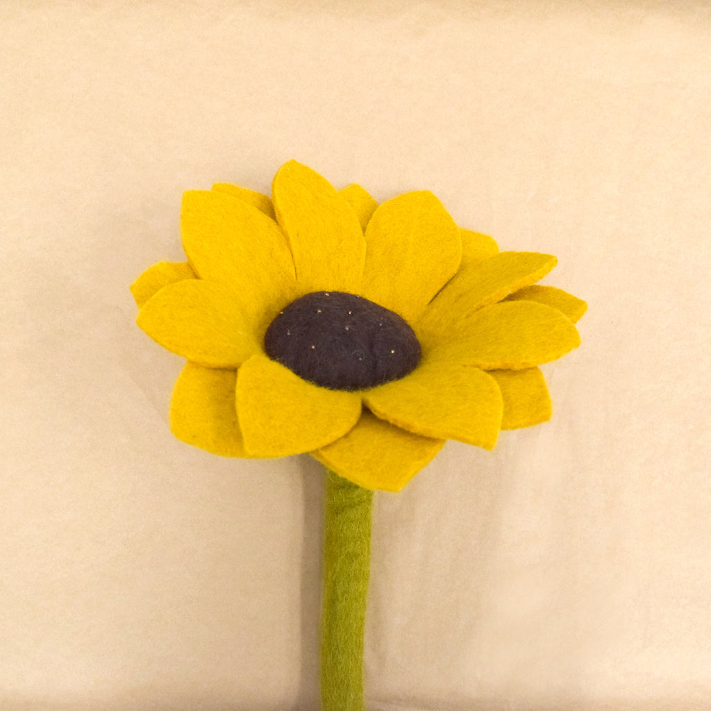 Felt Sunflower - Tara Treasures