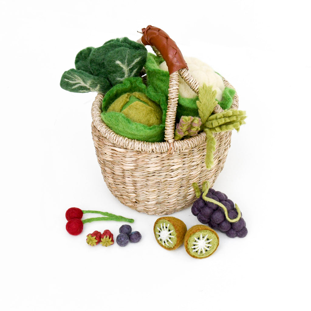 Felt Vegetables and Fruits - Pick and Choose - Tara Treasures