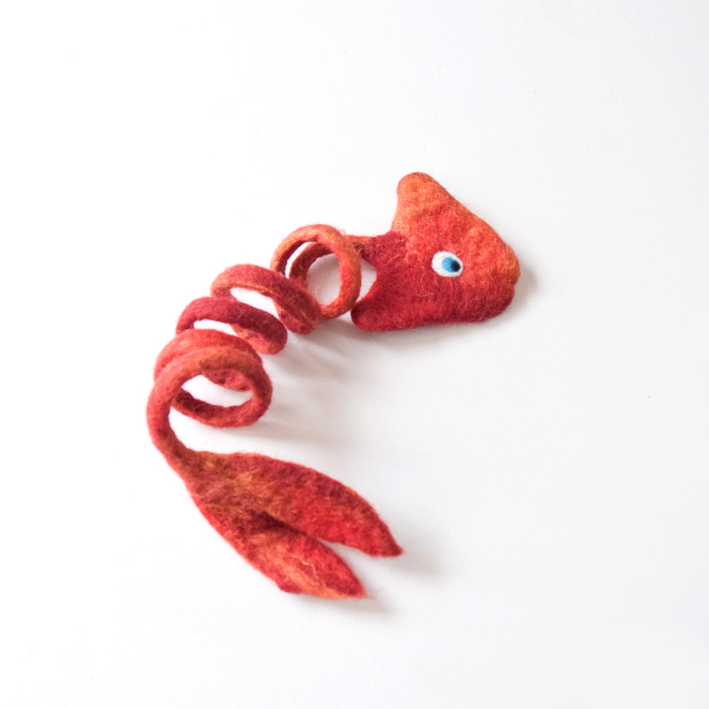 Felt Fish Toy for Cats - Tara Treasures